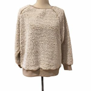 For the Republic Teddy Crewneck Sweater (L)